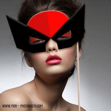 Super héros Photobooth Accessoires 3