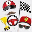 Pilote Formule 1 Ferrari Photobooth Accessoires