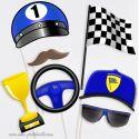 Pilote Formule 1 - Taille Enfant - Photobooth Accessoires