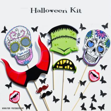 MAXI PARTY KIT HALLOWEEN