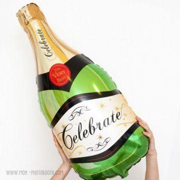 Maxi Ballon Bouteille de Champagne