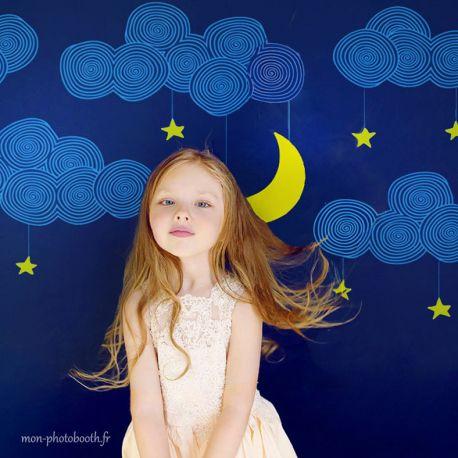 decor photobooth lune