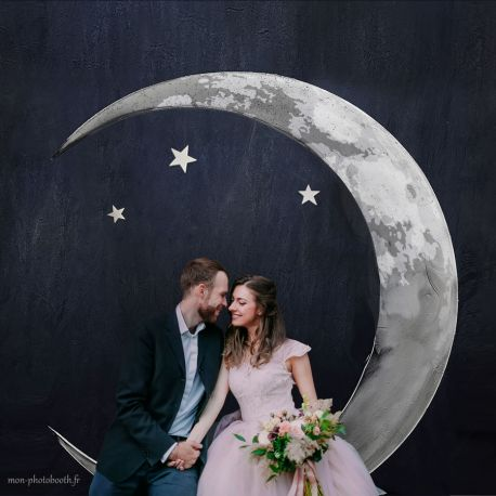 Decor Photobooth Lune - Paper Moon
