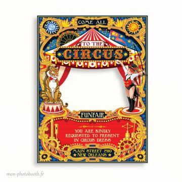 Cadre Photobooth Cirque