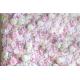 mur de fleurs mariage pastel
