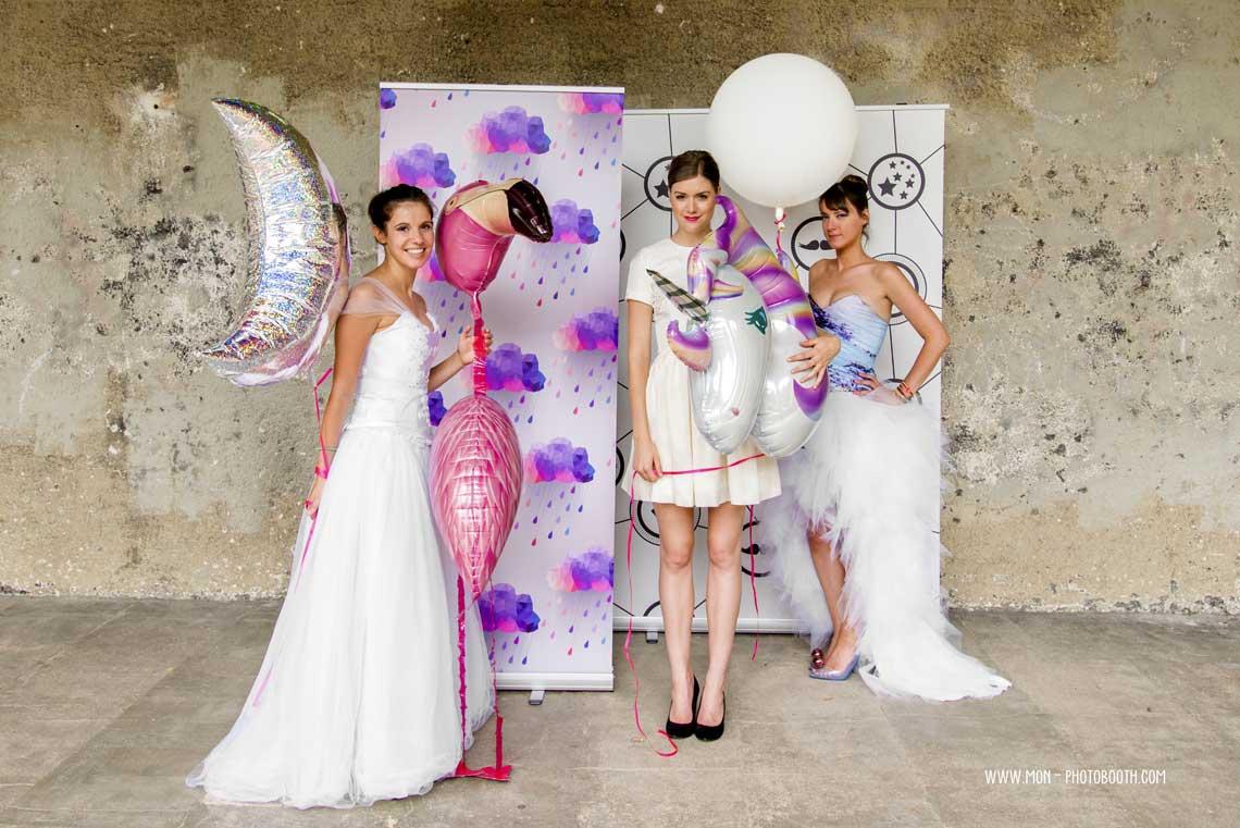 décor photobooth mariage
