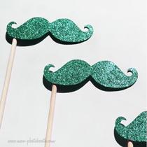 accessoires photobooth moustaches paillettes