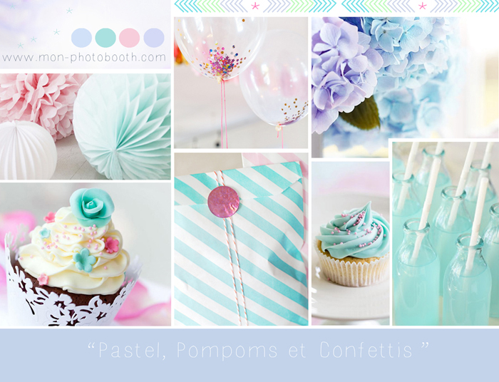 Baby shower pretty mon photobooth - Deco baby shower fille ...