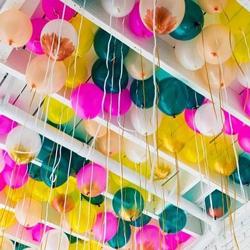 bouquet ballon multicolore