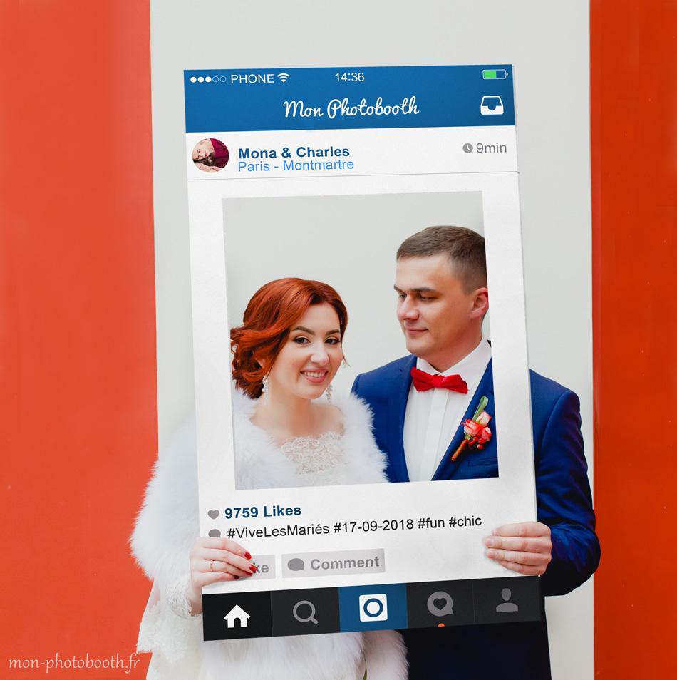 cadre photobooth instagram