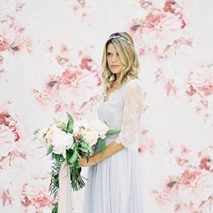 fond de photobooth mariage floral