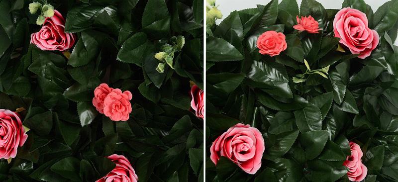 location mur fleurs feuilles