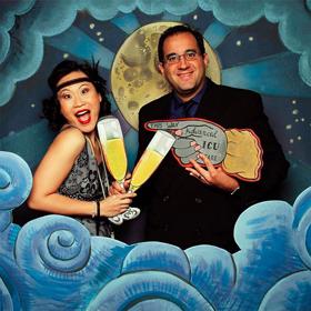 photobooth mariage retro theme gatsby le magnifique