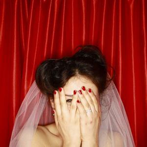 decor photobooth rideau rouge