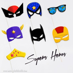 photobooth super heros